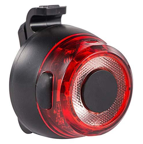 LED Fahrrad Rücklicht | Cree LED Fahrradlicht | USB aufladbare Rückleuchte | Deutsches StVZO-Zertifikat | IPX-4 wasserdicht Fahrradbeleuchtung | Fahrradlampe für Radsport | Rondo 35 + Ø, 40 g