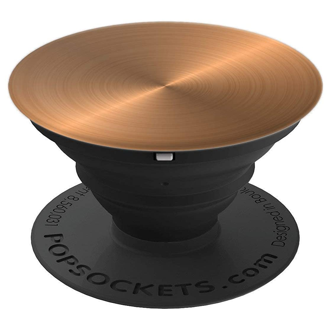 Copper Brush Metal Pattern Anodized - PopSockets Grip and Stand for Phones and Tablets