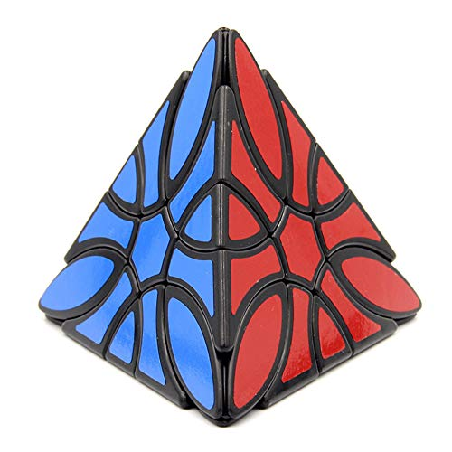 SYLL Pyramid Cube Puzzle de trébol en Forma de pirámide de Tercer Orden Rubik Cube para Enigmas y Entusiasta de Rubik Cube