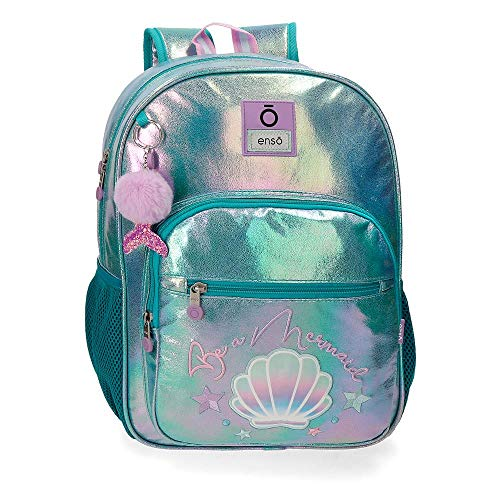 Enso Mochila Be a Mermaid, color Verde