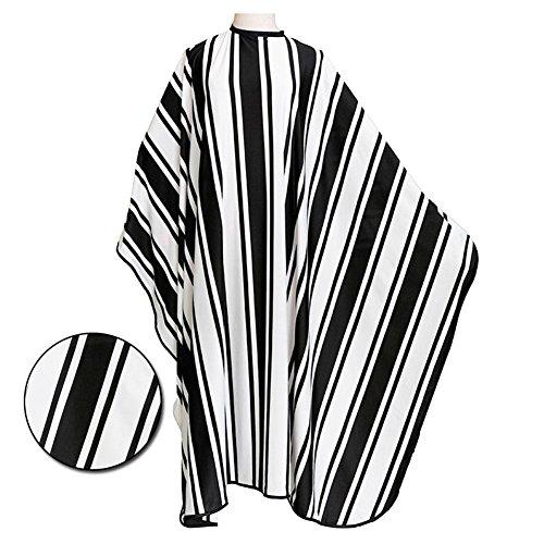 WANGXN Kapsel Schort Haar Salon Snijden Kapper Kappers Cape Polyester gestreepte Doek Styling Tool