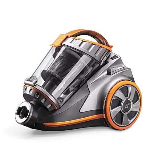 YANGSANJIN Multi-cycloon stofzuiger, multi-cycloonstofzuiger zonder zak, 800 W, stof- en waszuiger, incl. opzetstuk voor stofzuiger