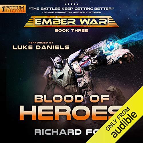 Blood of Heroes audiobook cover art