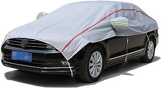 autohoes Autobedekking Compatibel met BMW X3, Waterdicht Ademend Half Car Cover, Dikke Windschermdekking, Katoenen Wol Spi...