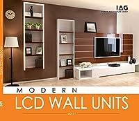 MODERN LCD WALL PATTERNS book has new inspiring ideas of modern lcd wall units