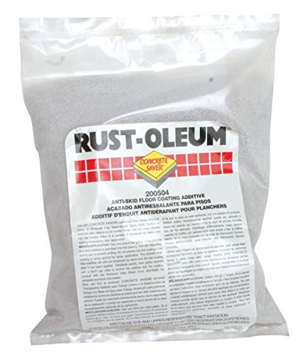 Rust-Oleum Concrete Saver 200504 Anti-Skid Floor Coating Additive, 1 lb. bag (6-Pack)