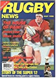 RUGBY NEWS MAGAZINE JULY 1996