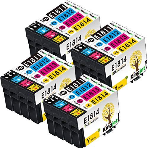 Cartuchos de Tinta Epson Xp-215 18 Marca KINGJET