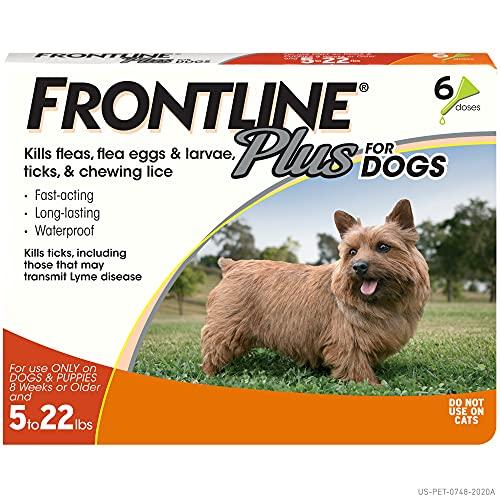 Frontline Plus Flea & Tick Protection for Pugs