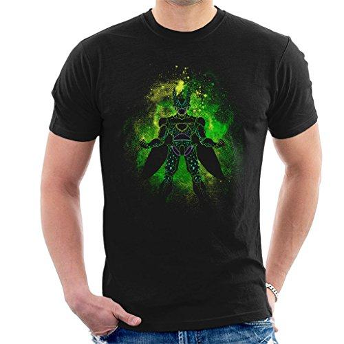 Cloud City 7 Dragonball Z Cell Silhouette Men's T-Shirt