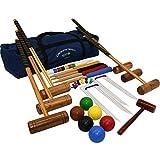 Garden Games Longworth - Juego de Croquet para 6 Jugadores