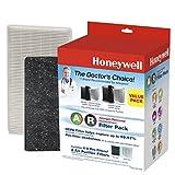 Honeywell HRF-ARVP True HEPA Filter Value Combo Pack, White