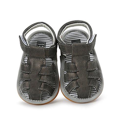 Bebé NiñOs NiñAs Scratch Moccasins Antideslizante Suela Blanda Al Aire Libre NiñIto Verano Primeros Caminantes Sandalias Zapatos