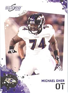 Michael Oher - Baltimore Ravens - 2010 Score Football Card