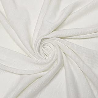Best cotton slub knit fabric Reviews