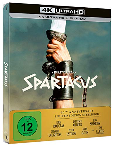 Spartacus 4K UHD Limited Steelbook (Exklusiv bei amazon.de) [Blu-ray]