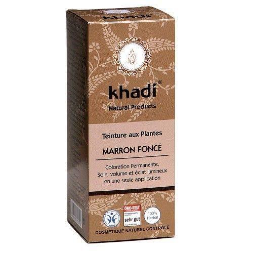 Khadi - Coloration végétale Marron foncé 100G Bio - Livraison Gratuite Pour Les Commandes En France - Prix Par Unité