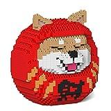 JEKCA ジェッカブロック 柴犬だるま 01S-M01 立体パズル 組立パズル
