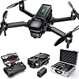 Potensic D68 Drone with 4K Camera for Adults, GPS FPV Quadcopter with Brushless Motor,Optical Flow Positioning, Auto Return Home, Follow Me, Point of Interest, 25 Mins Flight Time, Aluminum Carrying Case