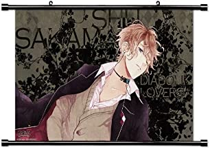 Diabolik Lovers Anime Fabric Wall Scroll Poster (32 x 18) Inches.[WP]- Diabolik Lovers-10 (L)