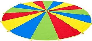 Gedourain 1.8 m Jump-Sac Arc-en-Ciel Parapluie Parapluie Parachute cultiver l'intérêt Enfants Enfants Jouets Cadeau