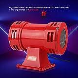 Sirenas rojas de 10,000 rpm, altavoz, así como granja, transmisión de alarma de seguridad para grúas, barcos, sistemas de alarma contra incendios(220-240V)