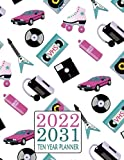 2022-2031 Ten Year Planner: Organizer From January 2022 to December 2031 120 Months Calendar Agenda with To do List Appointment Notebook - Great Gift ... Or New Year 80's Rollerblade VHS Cassettes