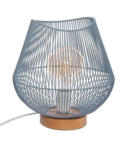 Lámpara de alambre azul Jena CM