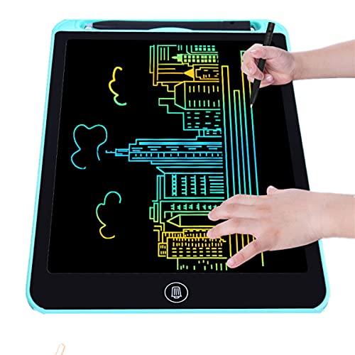 Tavoletta Grafica LCD con Display Colorato 15 Pollici, Scrittura Digitale Elettronica e Schermo Colorato Doodle Board, Tavoletta da Disegno, Regalo per Bambini e Adulti a Casa, Scuola e Ufficio (blu)
