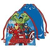 ARDITEX AV13502 Bolsa Merienda 26.5X21.5cm de Marvel-Vengadores