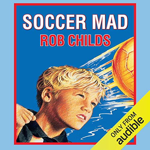 Soccer Mad audiobook cover art