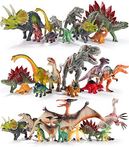 Geyiie Dinosaur Figures Toys,9