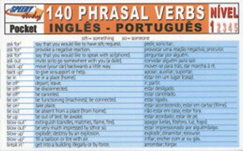 140 Phrasal Verbs Ingles/Portugues - Nivel 1