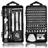 Royace Mini Screwdriver Set,Screwdriver Kit Precision Screwdriver Set PS4 Tool Kit Laptop Repair Tool Kit Torx Screwdriver Set Magnetic Watch Repair Kit Small Screwdriver Set for Electronics(119 in 1)