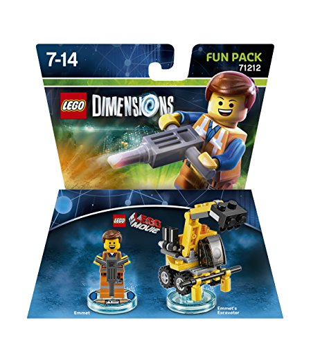 Lego Dimensions Fun Pack Lego Movie Emmet Video Game Toy