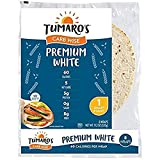 TUMAROS Tumaro's Carb Wise Premium White, 60 Calorie, 5 Net Carbs, 5g Protein, 0g Sugar, 8g Fiber,, 8Count (Pack Of 6)