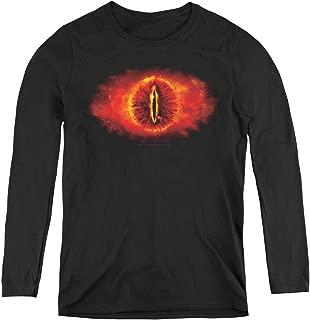 Lor Eye of Sauron Adult Long Sleeve T-Shirt for Women