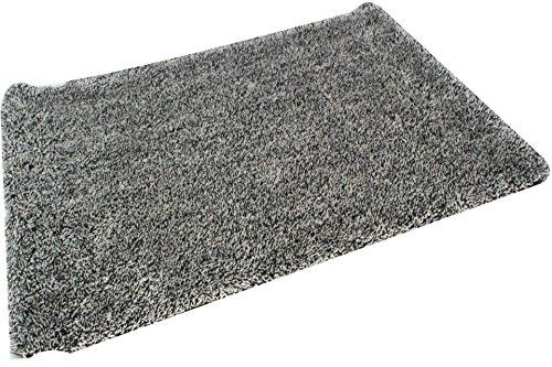 GDWorld Magic Clean Schmutzfangmatte Fußmatte 70 cm Hell-Grau- Weiss
