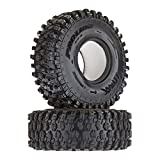 Pro-Line Racing Proline 1012814 Hyrax 1.9' G8 Rock Terrain Truck Tires (2) for Crawlers, Front Or Rear