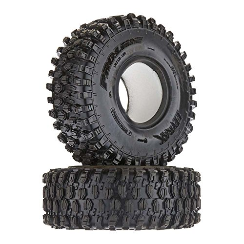 """Proline 1012814 Hyrax 1.9"""" G8 Rock Terrain Truck Tires (2) for Crawlers, Front Or Rear"""