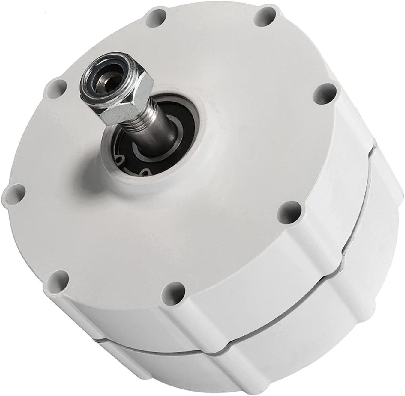 Tqing Baja Velocidad 6000W 12V 24V 48V Pequeño generador de imán Permanente Alternadores de CA para turbina de Viento de Bricolaje o turbina de Agua