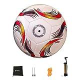 Balón de Fútbol Pelota De Fútbol Más Nueva De 2020, Tamaño Estándar 5, Pelota De Fútbol, Material PU, Pelotas De Entrenamiento De La Liga Deportiva