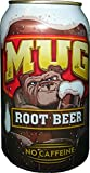 Mug Root Beer, 12 oz can (Pack of 24)