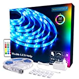 LED Strip RGB 5m LED Licht Streifen SMD 5050 Leds mit...