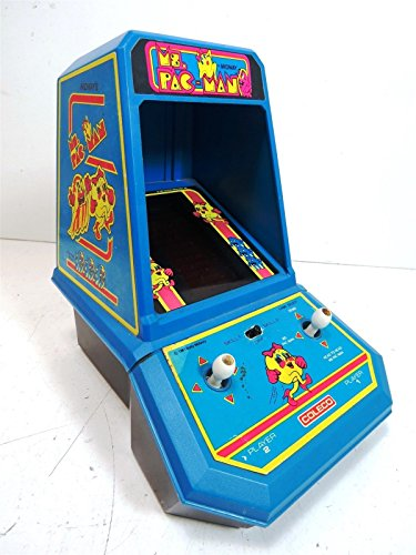 Sconosciuto MS. Pac-Man mini Handheld Arcade Game by Midway Made by Coleco