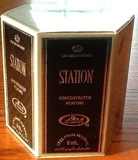 Station - 6ml (.2oz) Roll-on Perfume Oil by Al-Rehab (Crown Perfumes) (Box of 6)