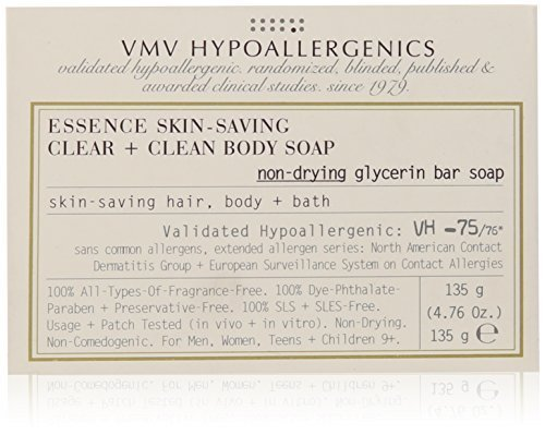 VMV Hypoallergenics Essence Skin-Saving Clear and Natural Glycerin Soap