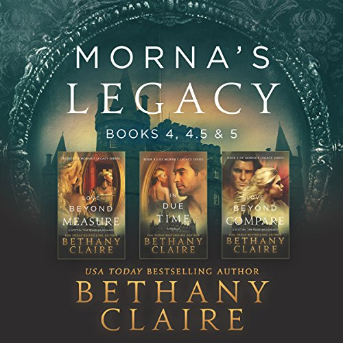 Morna's Legacy: Books 4, 4.5, 5 audiobook cover art