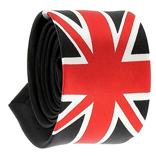 Cravate Drapeau Anglais Union Jack