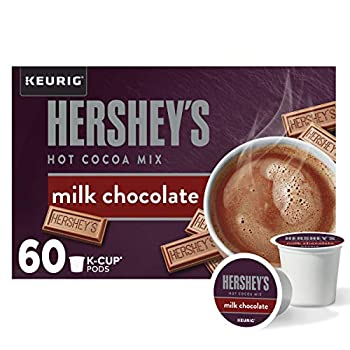 Hershey s Milk Chocolate Hot Cocoa K-Cup Pods  60 Pods 6 Packs of 10